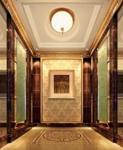 玄关吊顶混搭风格装饰效果图
