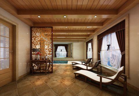 卫生间窗帘混搭风格装饰设计图片