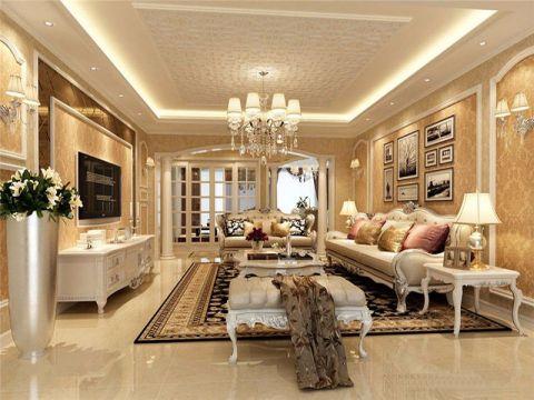 6万预算160平米四室两厅装修效果图
