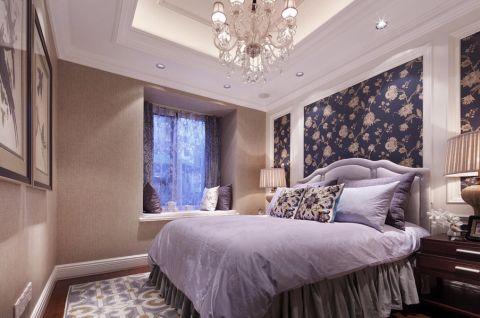 卧室飘窗欧式风格装修设计图片