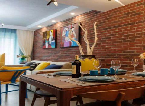 餐厅餐桌混搭风格装修效果图