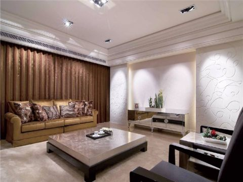 30万预算160平米四室两厅装修效果图