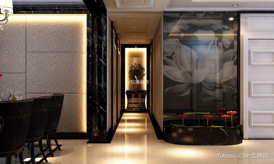 餐厅米色走廊简约风格装潢效果图