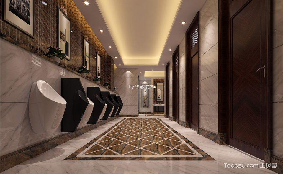 企业高级餐厅卫生间装饰图片