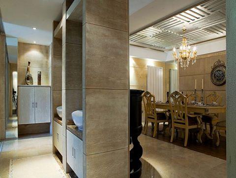 餐厅吊顶欧式风格装修效果图
