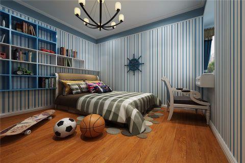 儿童房吊顶美式风格装潢设计图片