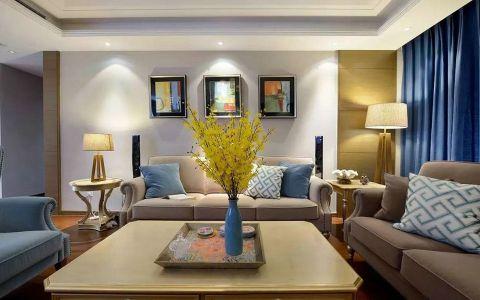9.6万预算120平米两室两厅装修效果图