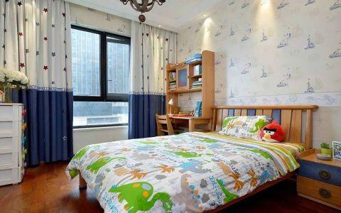 卧室书桌美式风格装饰设计图片