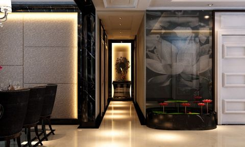 餐厅走廊简约风格装潢效果图