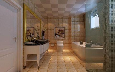 卫生间吊顶欧式风格装潢效果图