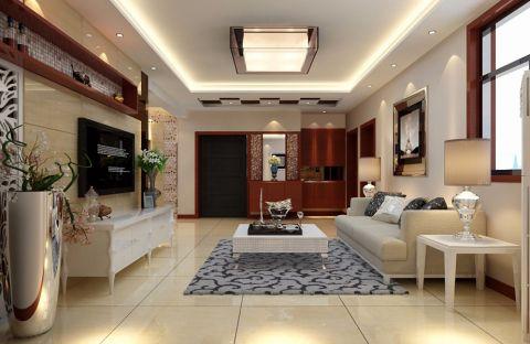 5万预算90平米一居室装修效果图