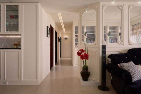 客厅隔断新古典风格装潢设计图片
