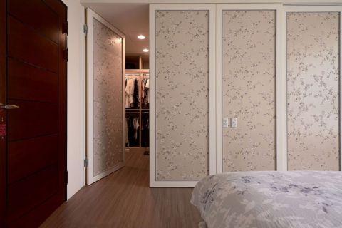 卧室推拉门新古典风格装修图片
