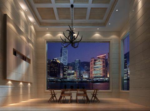 客厅飘窗现代风格装饰图片