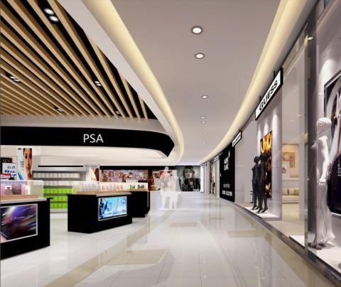 华普置业购物广场装修设计效果图
