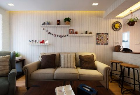 客厅吧台混搭风格装修效果图
