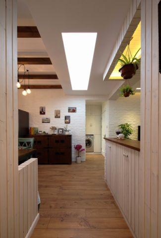 客厅走廊混搭风格效果图