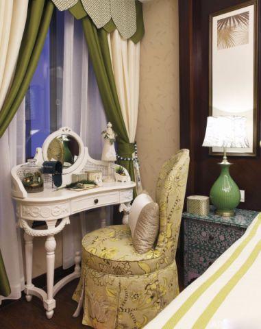 卧室梳妆台混搭风格效果图