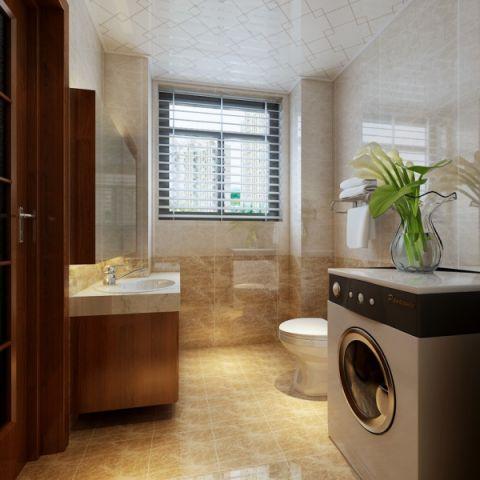 卫生间窗帘现代简约风格效果图
