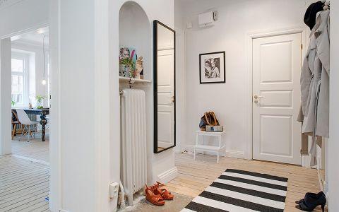 玄关走廊北欧风格装修设计图片