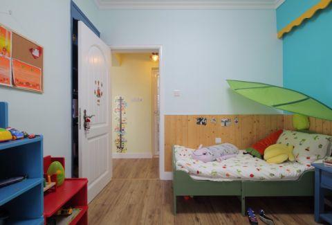 儿童房床混搭风格效果图