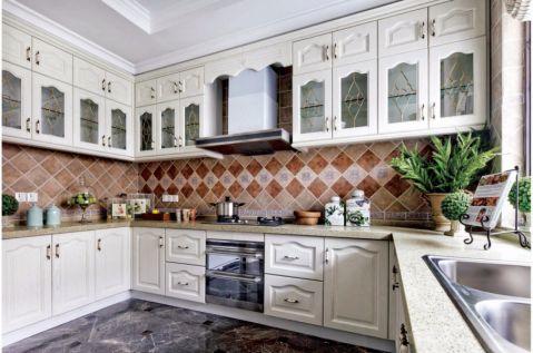 厨房橱柜法式风格装潢设计图片