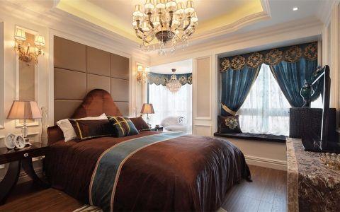 卧室背景墙欧式风格装修效果图