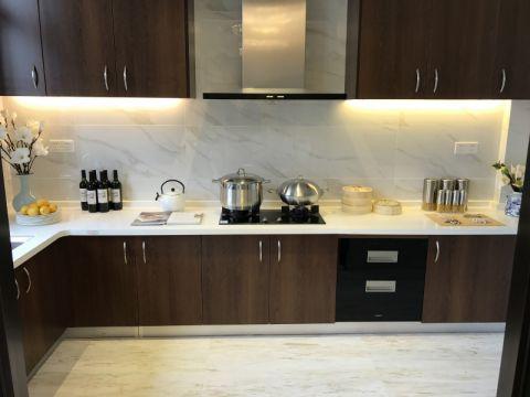 厨房背景墙新中式风格装饰效果图