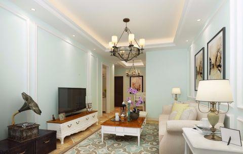 5万预算100平米两室两厅装修效果图