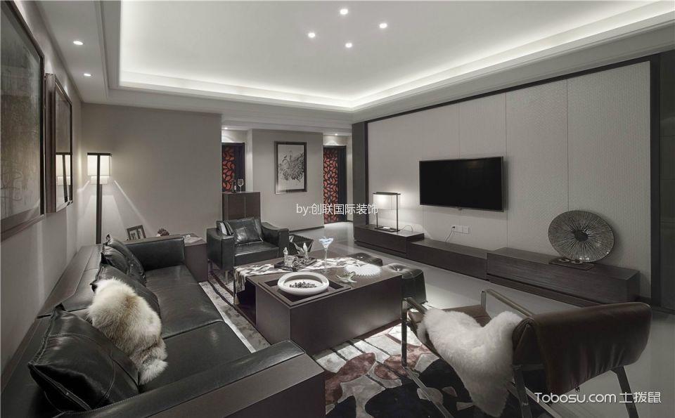 4万预算90平米两室两厅装修效果图