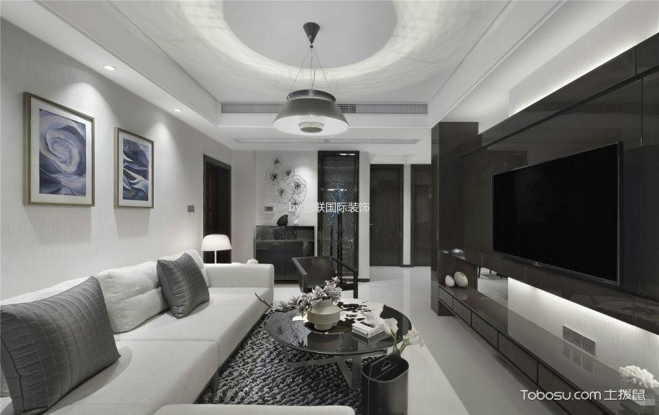 5万预算106平米三室两厅装修效果图
