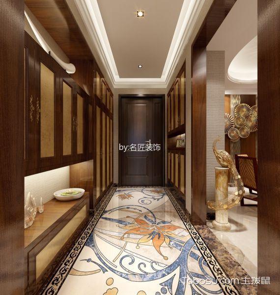 玄关 门厅_19.5万预算160平米四室两厅装修效果图