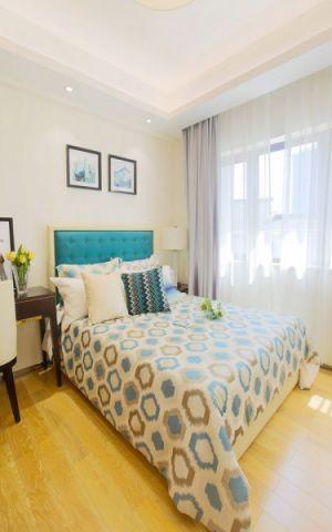 卧室窗帘新古典风格装饰图片