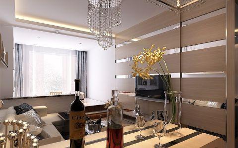 6万预算100平米两室两厅装修效果图