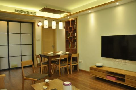 20万预算120平米两室两厅装修效果图