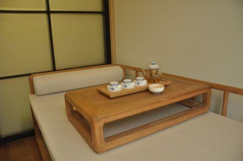 书房榻榻米日式风格装饰效果图