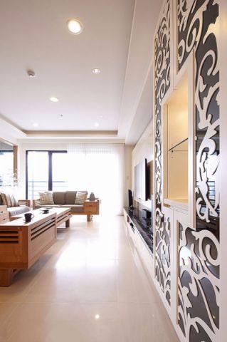 客厅走廊简约风格装饰图片