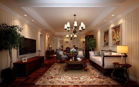 6.5万预算140平米四室两厅装修效果图