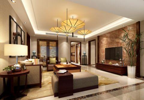 19.5万预算160平米四室两厅装修效果图