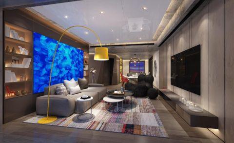 25万预算160平米三室两厅装修效果图