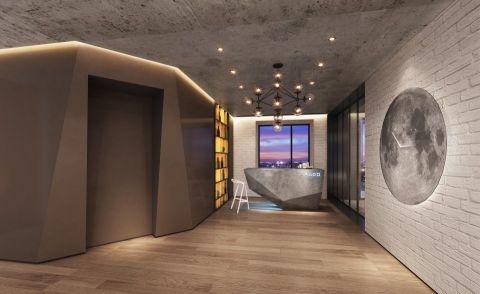 餐厅吊顶后现代风格装修设计图片