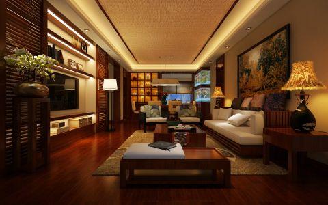 26万预算160平米三室两厅装修效果图