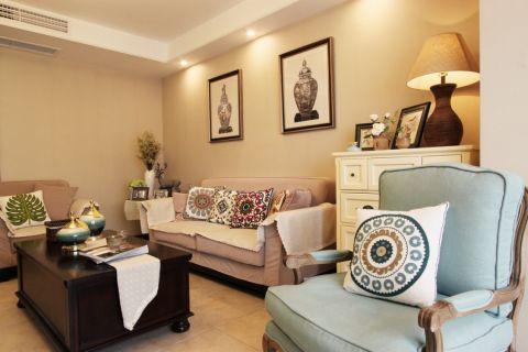 客厅沙发新古典风格装修效果图