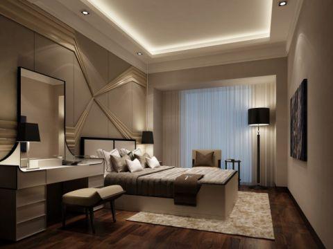 卧室背景墙现代简约风格装饰效果图