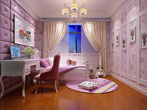 卧室背景墙混搭风格装修设计图片