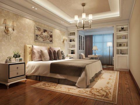 卧室书桌简欧风格效果图
