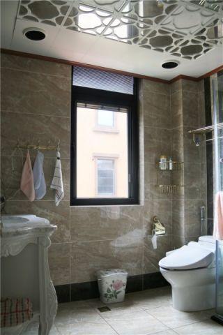 卫生间吊顶简欧风格装潢设计图片
