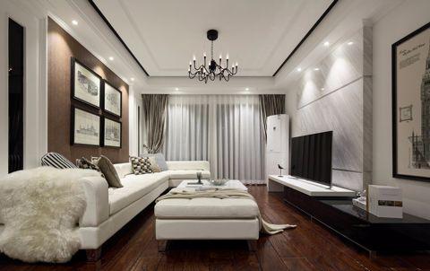 11.5万预算140平米三室两厅装修效果图