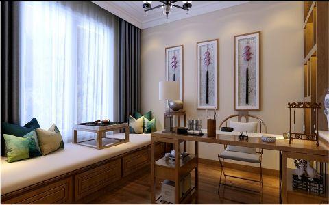 书房榻榻米新中式风格装潢设计图片