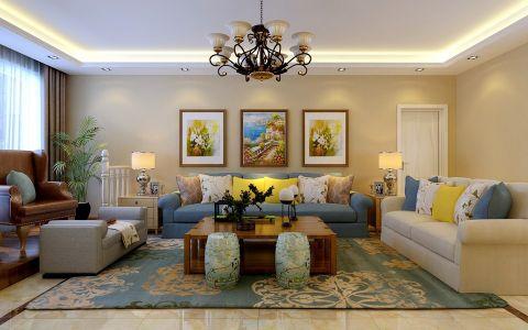 57万预算190平米四室两厅装修效果图
